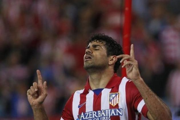 Atletico Madrid vs. Chelsea: Blues Must Stop Diego Costa to Stifle Atleti