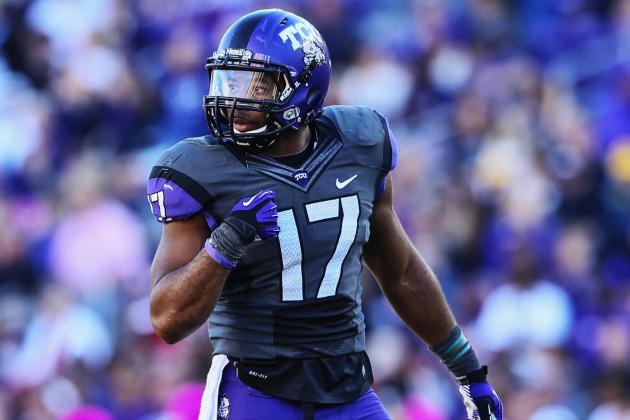 TCU Football's Defensive Leader Carter Has Adjusted to Life's Storms