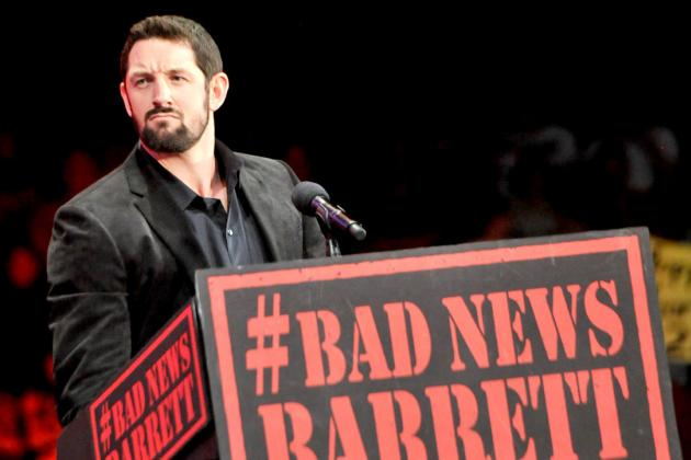 Bad News Barrett's Last Chance for Superstardom in WWE Is Right Now