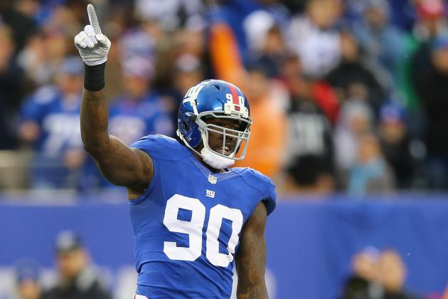 Jason Pierre-Paul Sets Goals for 2014