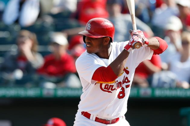 Cardinals' Taveras 'Day to Day' After Rolling Left Ankle