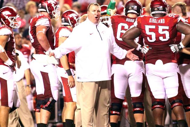 Will Brutal 2014 Schedule Doom Bret Bielema, Arkansas?