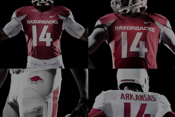 Arkansas Razorbacks Show off New Logo and Football Uniforms