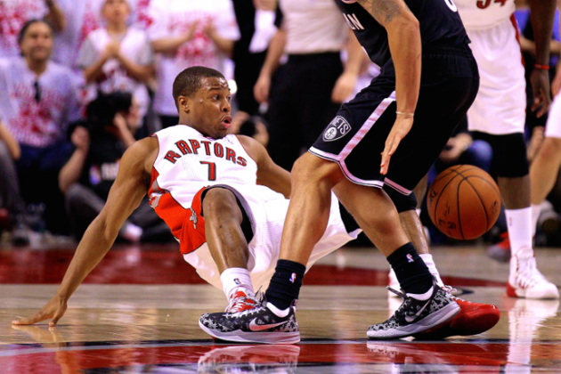 Raptors Guard Kyle Lowry's Specialty: The Art of Drawing Offensive Fouls