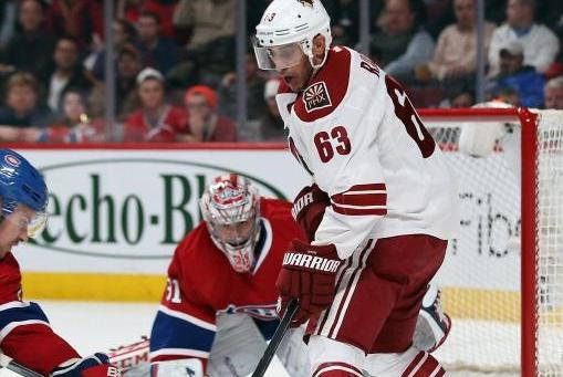 Mike Ribeiro's Poor Play Hurt Coyotes' Playoff Chances