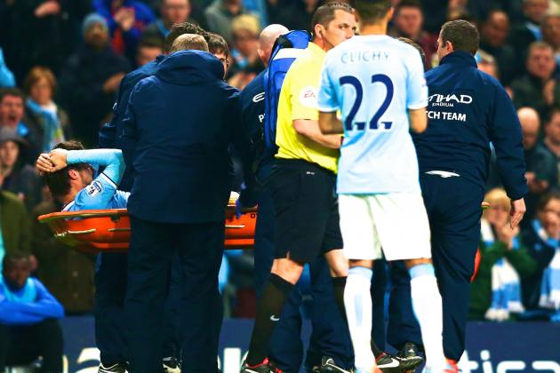 David Silva's Injury Huge Blow to Manchester City's Lingering Title Hopes