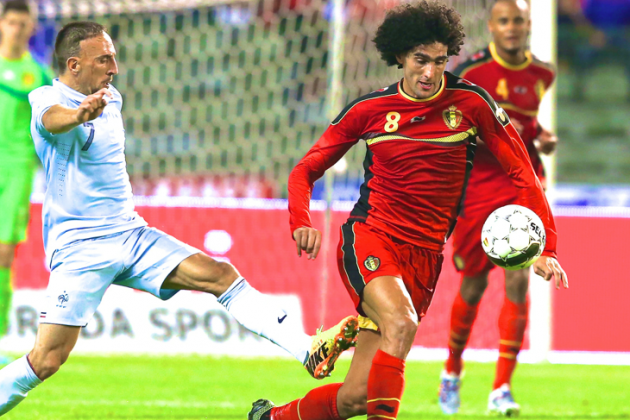 How a Big World Cup Can Spark Fellaini Back to Life at Manchester United