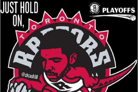 Brooklyn Nets Fan Trolls Drake and the Toronto Raptors with Meme