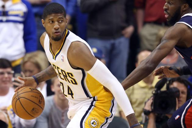 Video: Paul George Nails Deep 3 to Ignite Indy Crowd