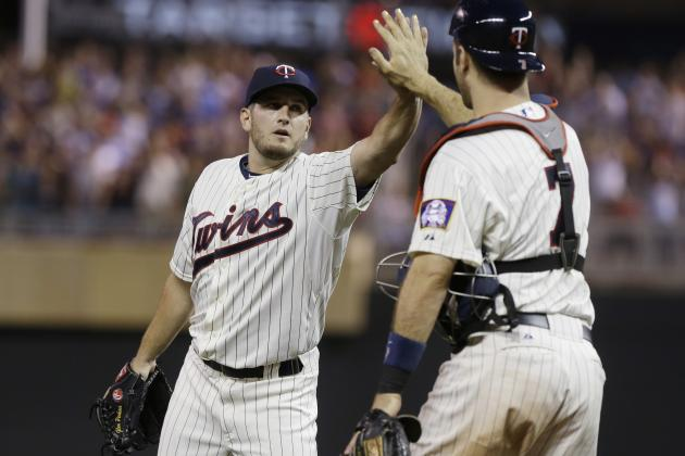 Twins Teammates Joe Mauer and Glen Perkins Really Are Two of a Kind