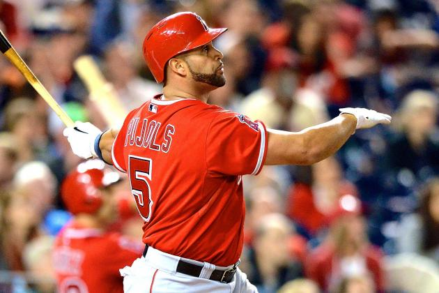 Albert Pujols Smashes 500th Career Home Run vs. Washington Nationals