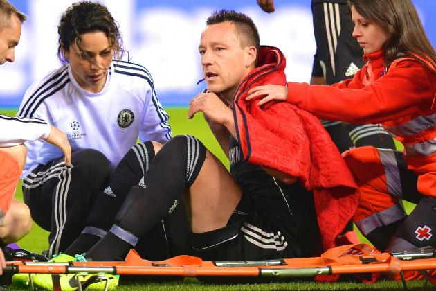 John Terry Injury: Updates on Chelsea Defender's Foot and Return