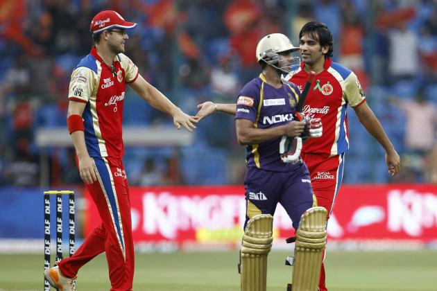 Royal Challengers Bangalore vs. Kolkata Knight Riders, IPL: Preview and TV Info