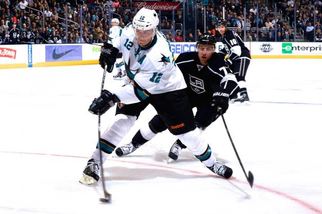 San Jose Sharks vs. Los Angeles Kings Game 3: Live Score and Highlights