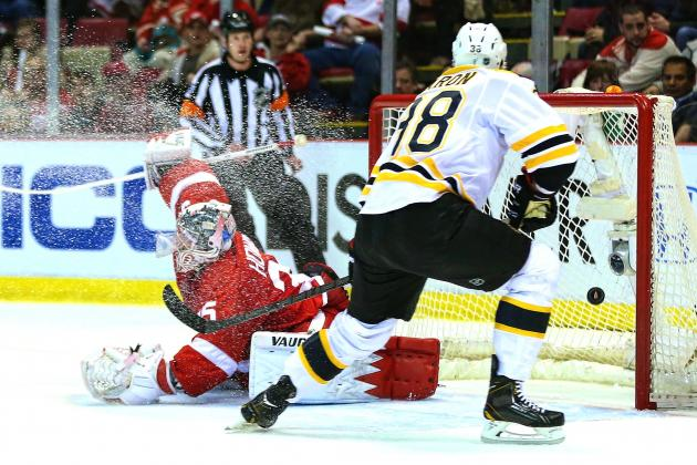 Boston Bruins vs. Detroit Red Wings Game 3: Live Score and Highlights