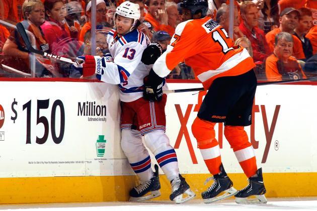 New York Rangers vs. Philadelphia Flyers Game 3: Live Score and Highlights