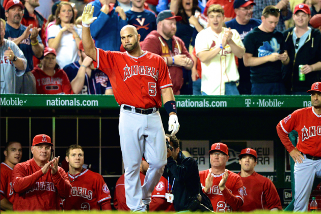 Albert Pujols Reaches Milestone, and the 500-Homer Club Is Credible Again