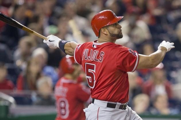 Angels' Albert Pujols Hits 500th Career Home Run