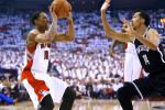 DeRozan Shines in Raptors' Game 2 Win vs. Nets