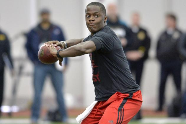 NFL Draft Rumors: Teddy Bridgewater, Tom Savage and Latest QB Buzz