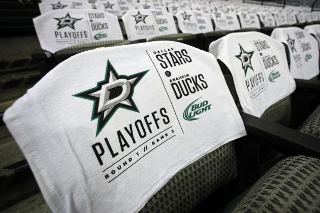 Playoffs Another Brick in the Road in Stars Return to Contender Status