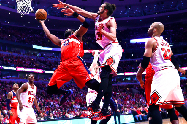 Wizards vs. Bulls: Game 2 Score and Twitter Reaction from 2014 NBA Playoffs