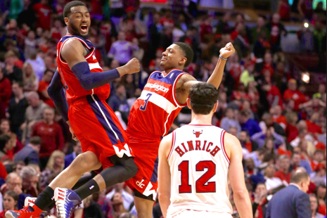 Wizards' Backcourt Co-Stars Not Intimidated by Chicago Bulls, Playoff Limelight