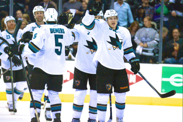 Balanced Sharks Turning Heads, Roll to 3-0 Series Lead with OT Win over Kings