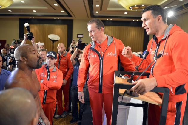 Wladimir Klitschko Ambushed by Crazed Shannon Briggs at Chaotic Presser