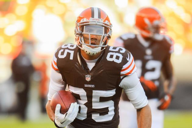 Former Browns WR Brian Tyms Suspended for 4 Games