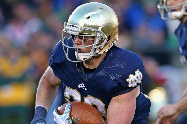 Notre Dame Aiming to Get More out of Its Running Backs