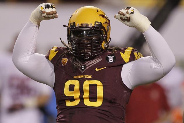 After Likely Taking Safety First, Bears Could Target Arizona State DT Sutton