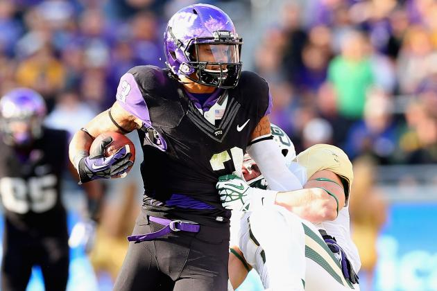 TCU Receiver Brandon Carter Arrested on Marijuana Charge