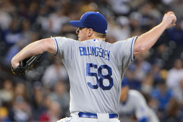 Chad Billingsley to receive PRP injection Wednesday