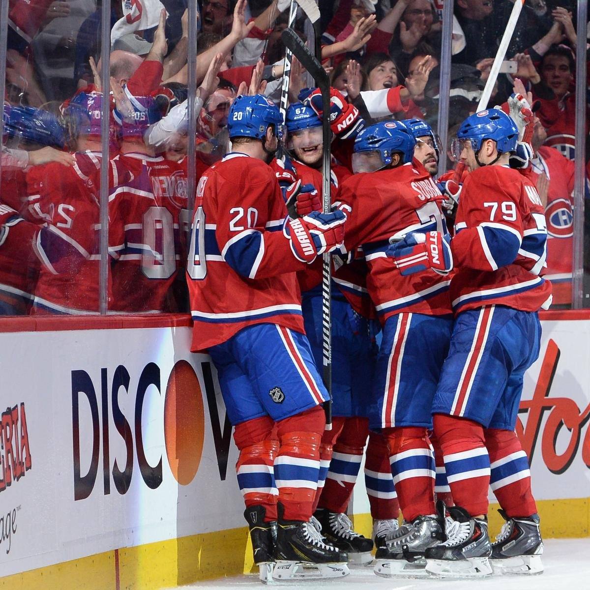 NHL Playoff Schedule 2014: 1st-Round TV Info And Updated