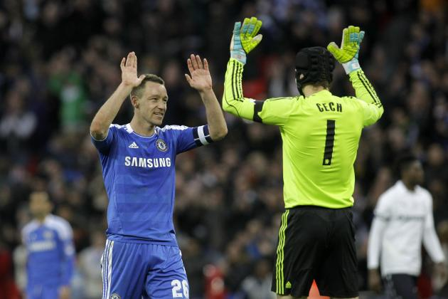 Chelsea Loses Petr Cech and John Terry to Injury During Champions League Play