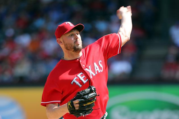 Matt Harrison Returns to the Texas Rangers Rotation on Sunday
