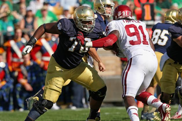Notre Dame Football: Can Ronnie Stanley Fill Zack Martin's Shoes in 2014?
