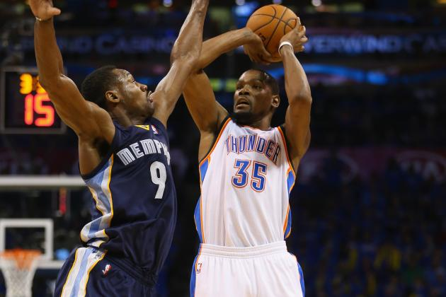 Is Tony Allen the Memphis Grizzlies' Kevin Durant Stopper?