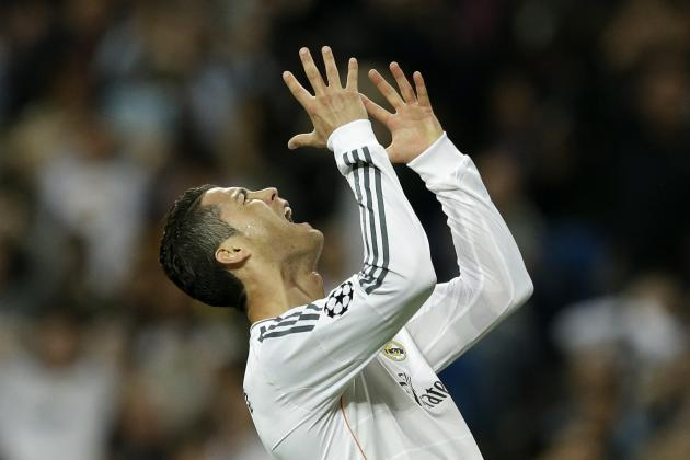 GIF: Cristiano Ronaldo Skies Incredible Chance to Double Madrid's Lead