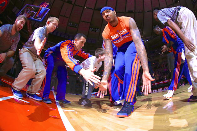 Carmelo Anthony's Free Agency Is Phil Jackson's First Big Test