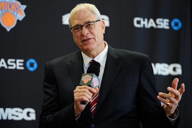 Phil Jackson Hopes Carmelo Anthony Stays 'True to His Word' About Taking Pay Cut