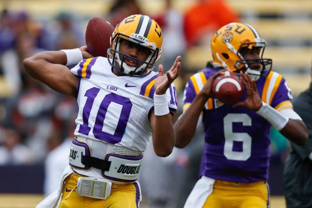 How Les Miles Can Solve LSU's Passing-Game Issues Before the Start of the Season