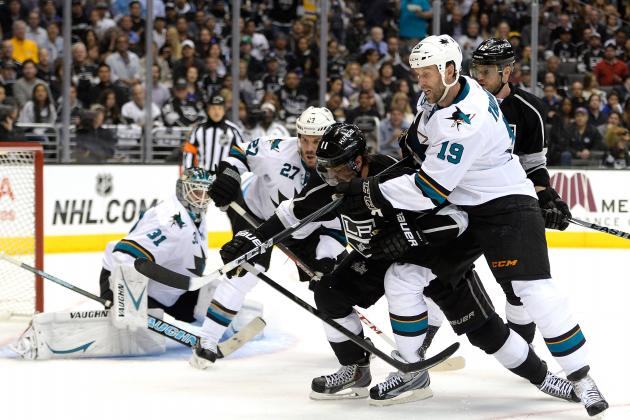 Sharks' Joe Thornton Records 100th Career NHL Playoff Point