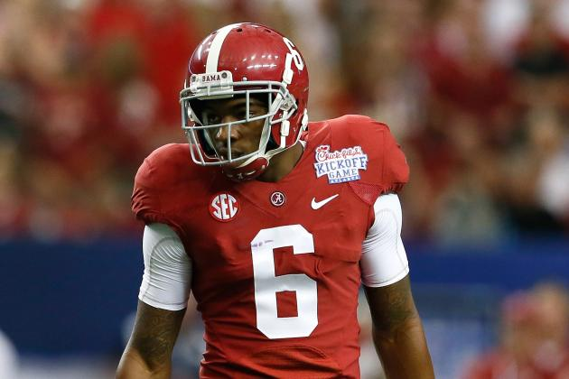 Alabama's Ha Ha Clinton-Dix Yet to Meet with St. Louis Rams