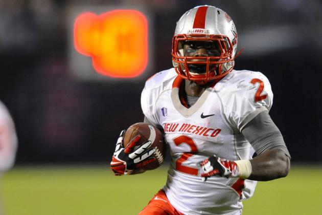 New Mexico RB Crusoe Gongbay Arrested on Suspicion of Rape and Kidnapping