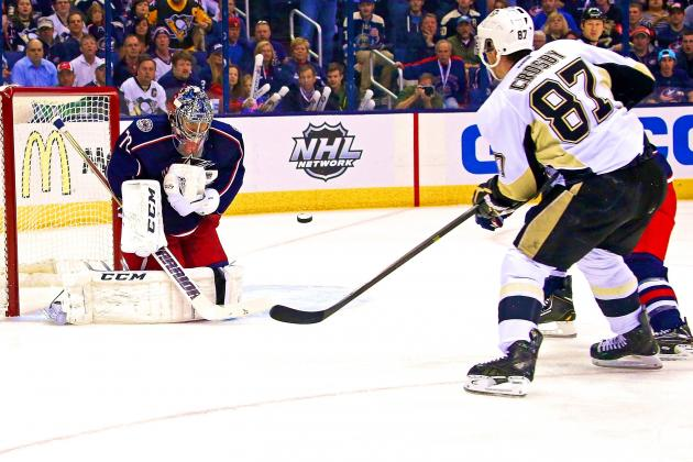 Pittsburgh Penguins vs. Columbus Blue Jackets Game 4: Live Score and Highlights