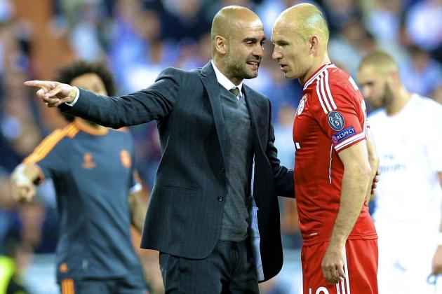 Pep Guardiola's Tiki-Taka Doesn't Suit Bayern Munich Against Real Madrid