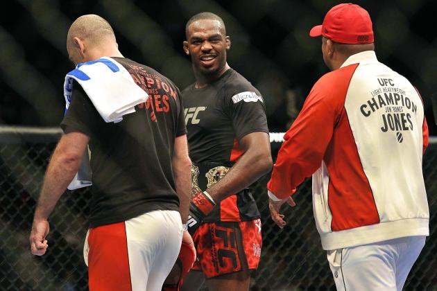 Jon Jones Open to Superfight with Chuck Liddell