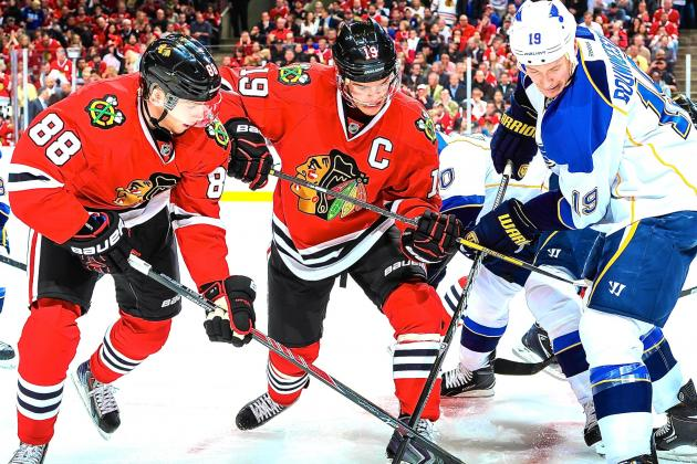 St. Louis Blues vs. Chicago Blackhawks Game 4: Live Score and Highlights